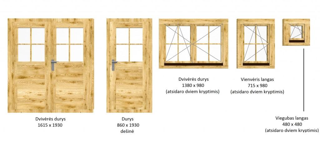 langai ir durys_